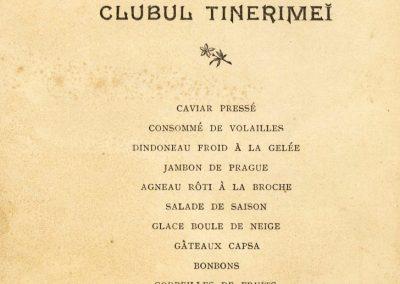 Casa Capsa - Revelion 1903