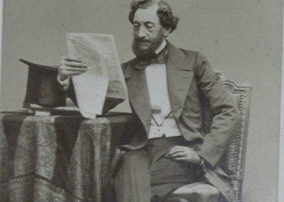 Domnitorul Barbu Stirbey, aprox. 1865
