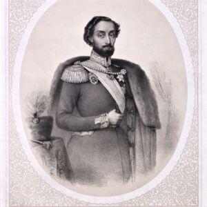 Domnitorul Barbu Stirbey (1799 - 1869)