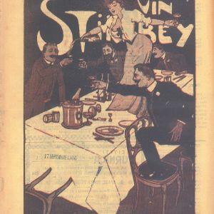 Afis Furnica - Vin Stirbey 1906